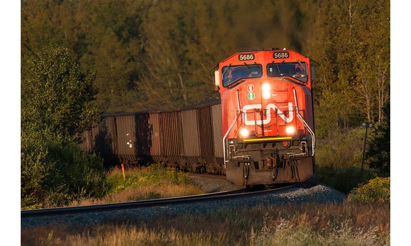 Canadian National train