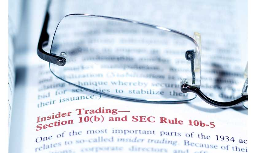 Sec Stresses Insider Trading In New Cyber Guidance Business