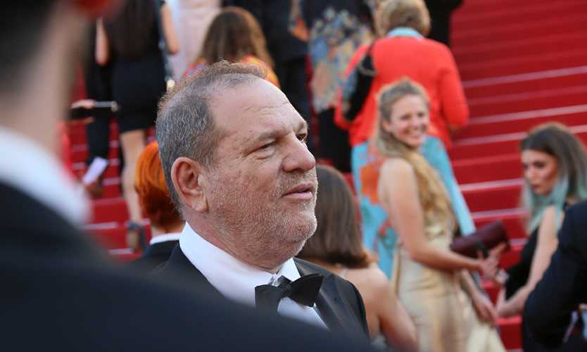 "Harvey Weinstein attends the ""Carol"" premiere during the 68th annual Cannes Film Festival on May 17, 2015."