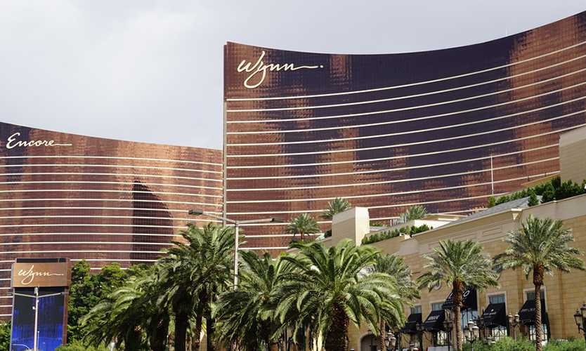 The Wynn and Encore casinos in Las Vegas