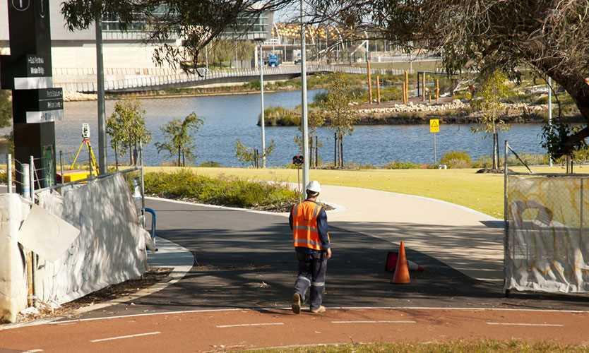City surveyor in Perth, Australia