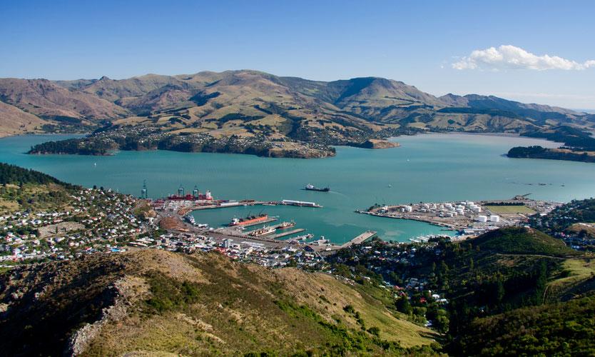 New Zealand port