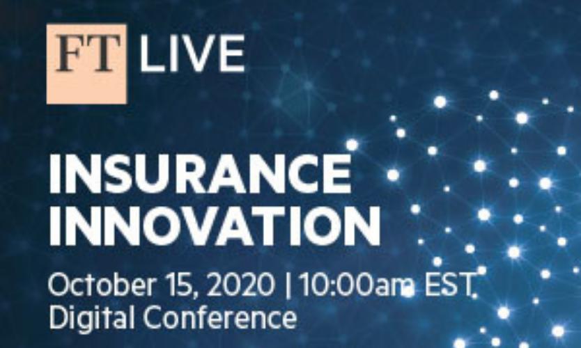 FT Insurance Innovation digital event - October 15