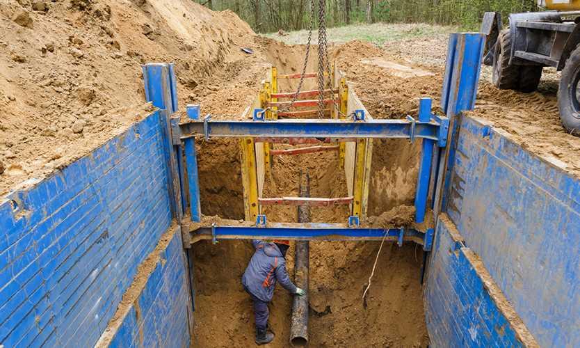 OSHA cites RAW Construction workplace safety trenching hazards