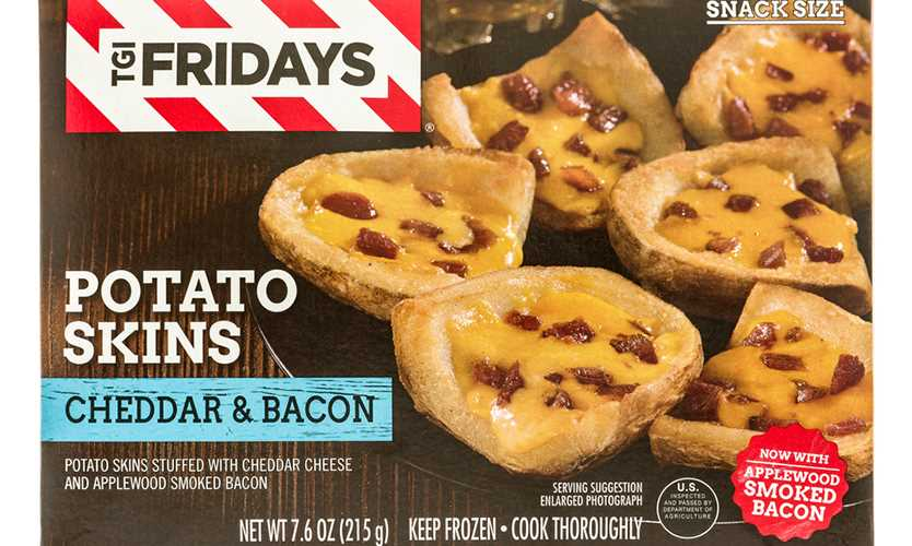 TGI Fridays potato skins