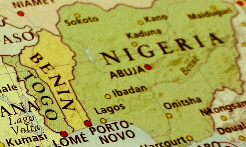 Benin-Nigeria border