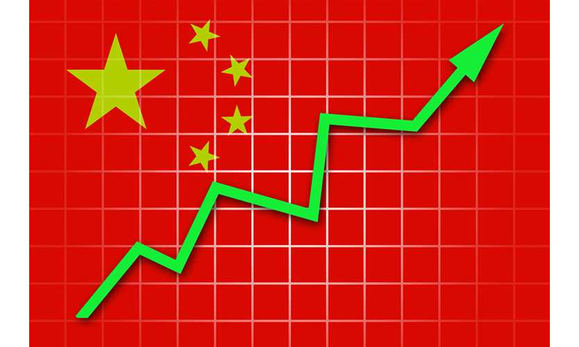 China insurance premiums up