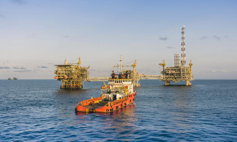 Malaysia oil field