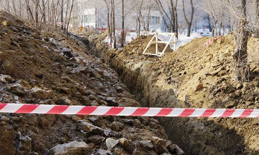 Split decision issued against contractor in alleged trenching violations