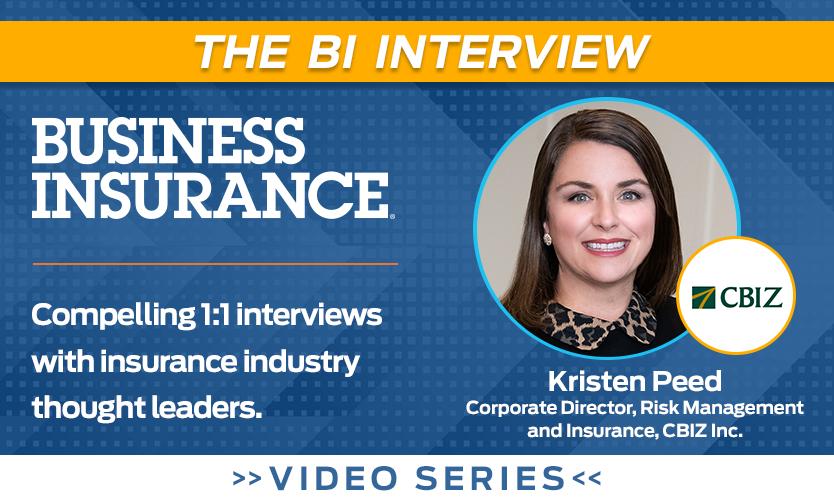 Video: The BI Interview with Kristen Peed, CBIZ Inc.
