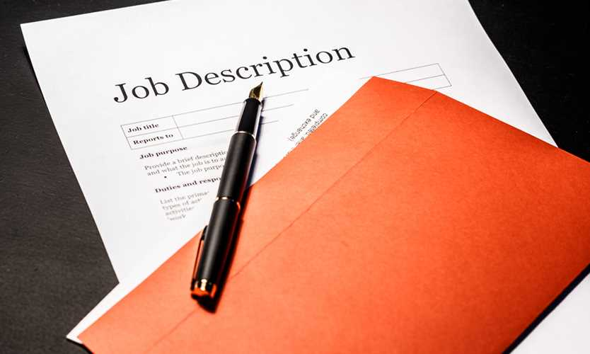 Detailed job descriptions essential for return to work: Expert