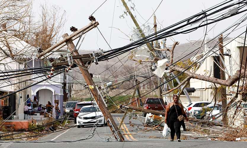 Global reinsurers material share Hurricane Maria loss AM Best