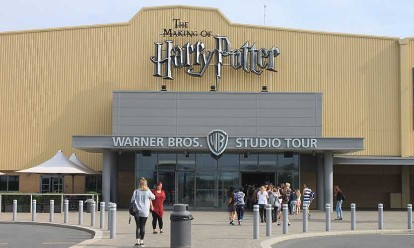 Warner Bros. studio in Hertfordshire