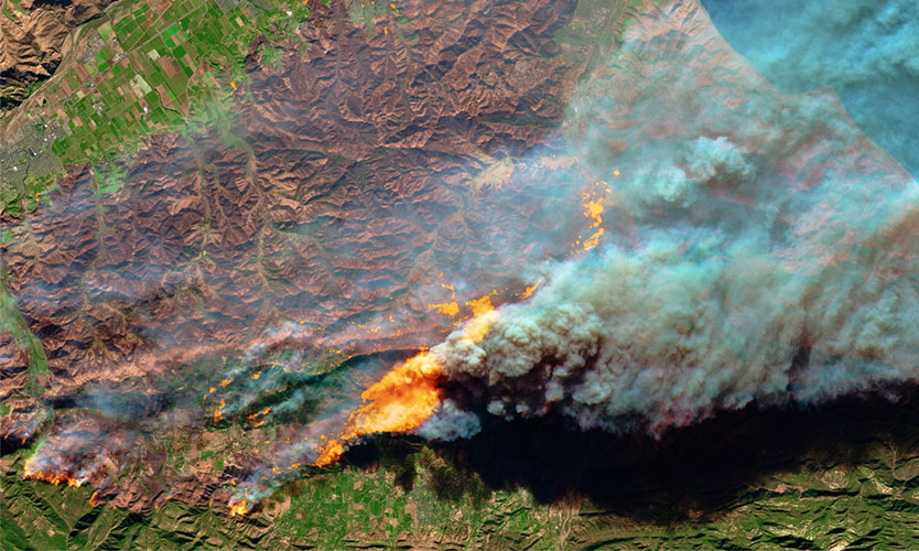 Camp Fire in Northern California