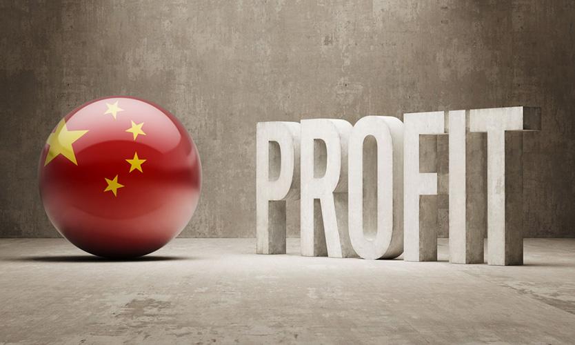 China profit