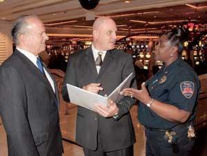 Casino cameras lower odds on fraud