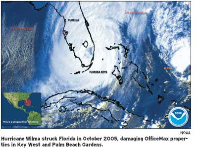 Among challenges after Wilma, sorting sea life from office supplies
