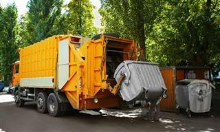 garbage truck Waste Management