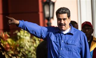 Venezuelan Socialist President Nicolas Maduro