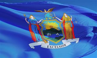 New York State flag