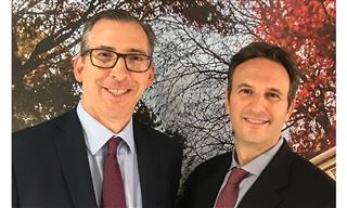Michael Popkin, left, and Rick Miller