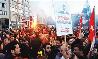 More inquiries for political risk insurance have come in volatile nations such as Turkey, where a rally was held in late April for newly elected Istanbul Mayor Ekrem Imamoglu.