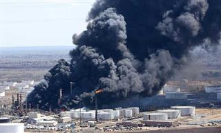 Superior, Wisconsin, refinery blast