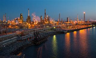 The Philadelphia Energy Solutions oil refinery