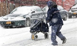 Cold snow ice workplace injuries workers compensation claims safety BLS OSHA