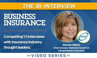 Video: The BI Interview with Donna Glenn, NCCI