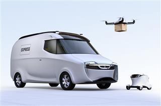 Insurers Allianz Swiss Re tech firms Cisco Hitachi drone driverless car risks