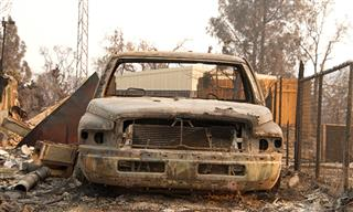 California wildfires Carr Fire Mendocino Complex extreme weather taking toll on insurers