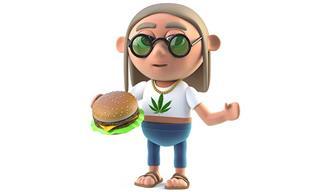 Cannabidiol hamburger