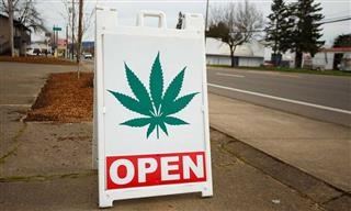 Marijuana dispensary open for business