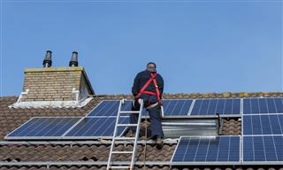California OSHA cites solar panel installer employee falls 29 feet