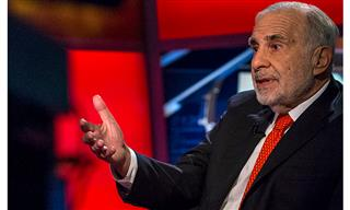 Activist investor Carl Icahn analysts welcome resignation AIG CEO Peter Hancock