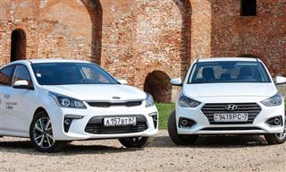 Kia and Hyundai cars