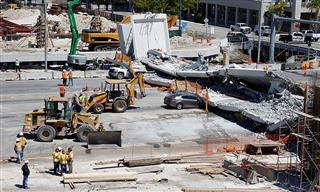 Contractors slapped with safety citations after fatal pedestrian bridge collapse in Miami