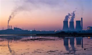 Coal-fired power plant in India