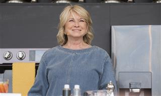 Martha Stewart takes the culinary stage during the BottleRock Napa Valley Music and Food Festival in Napa, California, in May 2017.