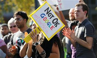 Google employees protest sexual harassment policies