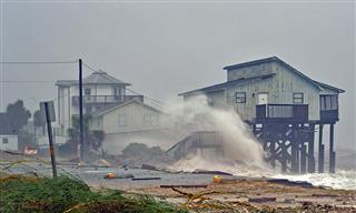 Hurricane Michael hits the Florida coast
