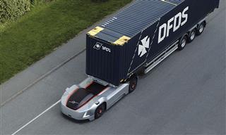 Volvo autonomous truck Vera