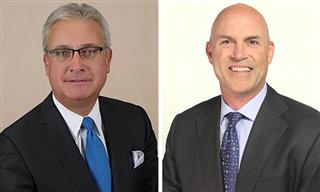 Willis Re North America chairman Tom Wafer vice chairman Jeffrey Livingston