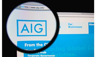 AIG financial strength AM Best ratings negative review loss reserves disclosure