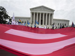 U.S. Supreme Court upholds same-sex marriage rights