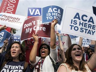 Health care reform ruling a huge victory for Obama
