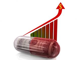 Prescription drug prices up more than 10% in 2015, according to analysis by health care analytics company Truveris Inc.