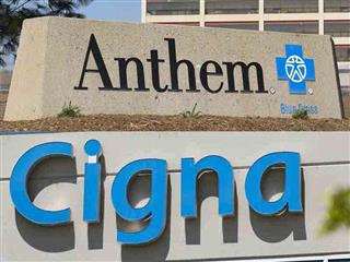 Anthem Cigna merger executives health insurer merger in doubt