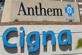 Anthem Cigna antitrust U.S. Department of Justice Wall Street Journal